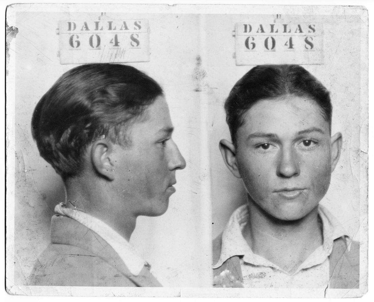 Clyde Barrow (of the famous bandit duo Bonnie & Clyde)